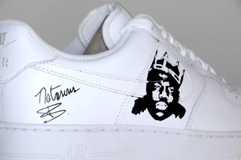 Nike Air Force Tupac and big custom