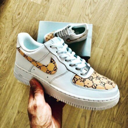 Nike Air Force Gucci Custom