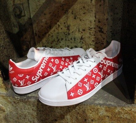 adidas-stan-smith-x-supreme-lv-custom