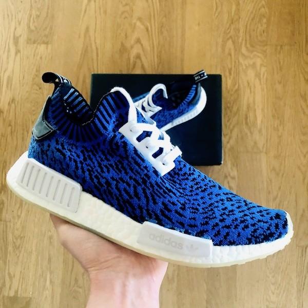 custom sneaker adidas nmd r1 blue