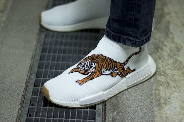 custom sneaker adidas nmd cs2 tiger