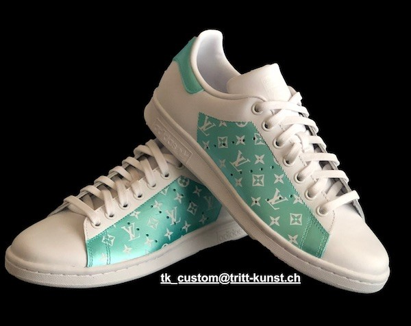 custom adidas stan smith lv