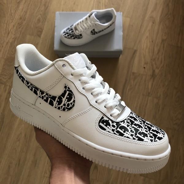 custom sneaker nike air force dior