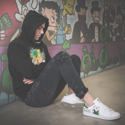 custom sneaker adidas stan smith mr.monopoly