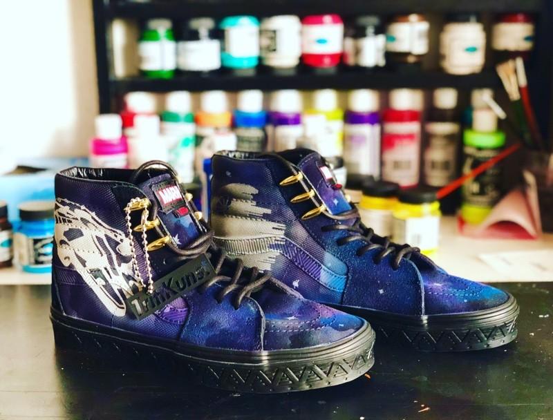 tritt-kunst Custom Sneaker custom sneaker vans star was
