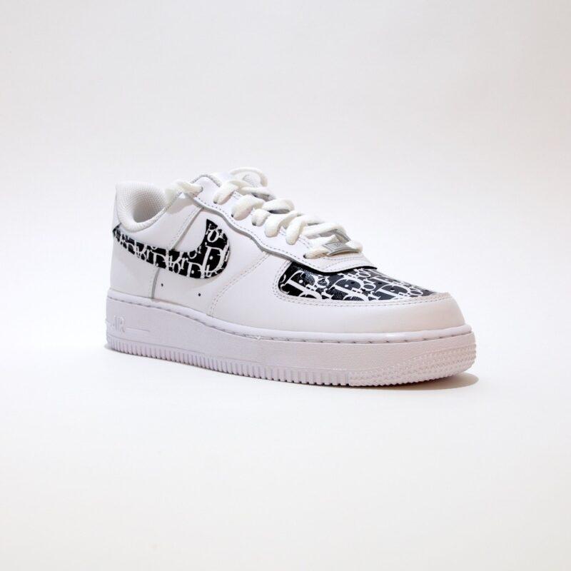 tritt kunst custom sneakers nike air forcer dior custom