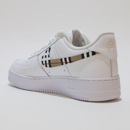 Nike Air Force Burberry Swoosh Custom