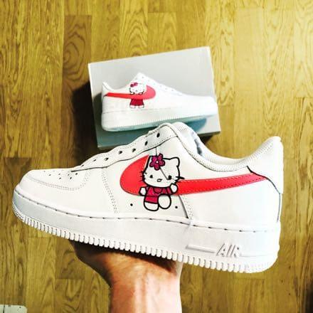 Nike Air Force hello Kitty Custom